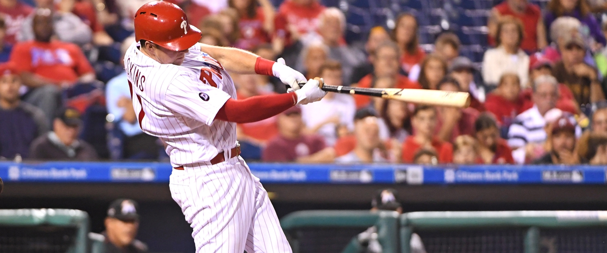 How is Rhys Hoskins This Good This Early?