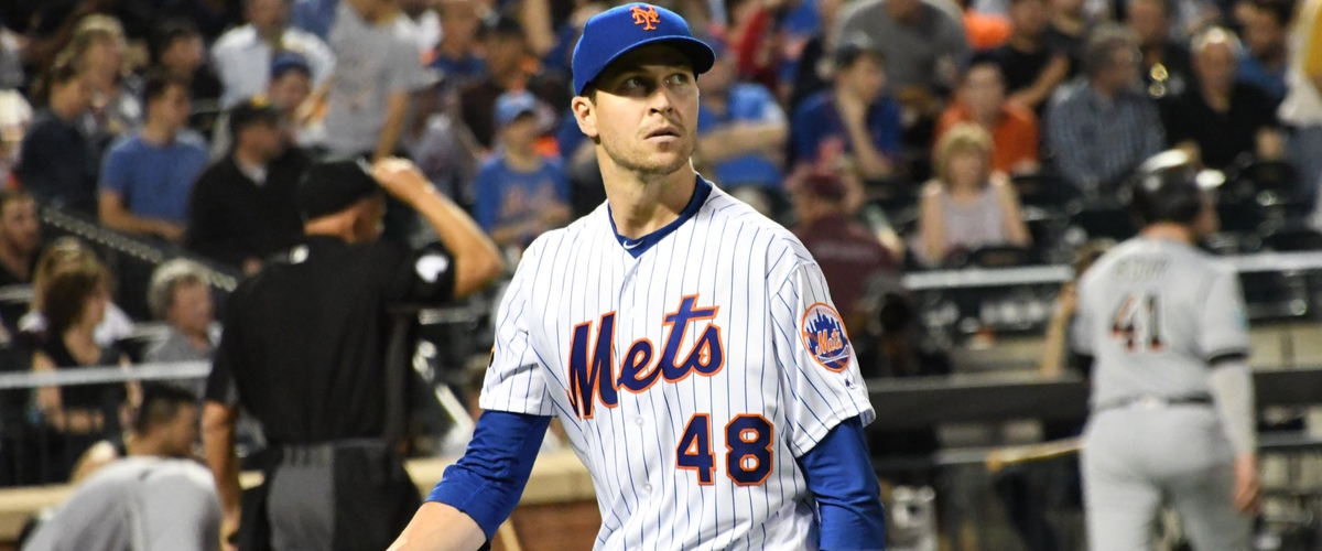 Familia blows deGrom's gem, Marlins take the rubber game