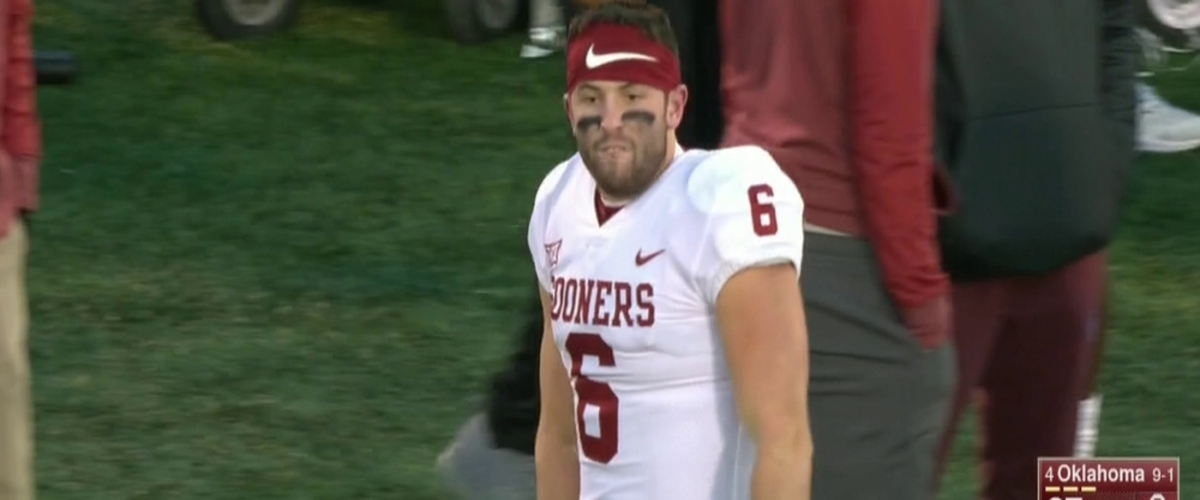 Why Baker Mayfield Shouldn't Be Punished For His Actions at Kansas