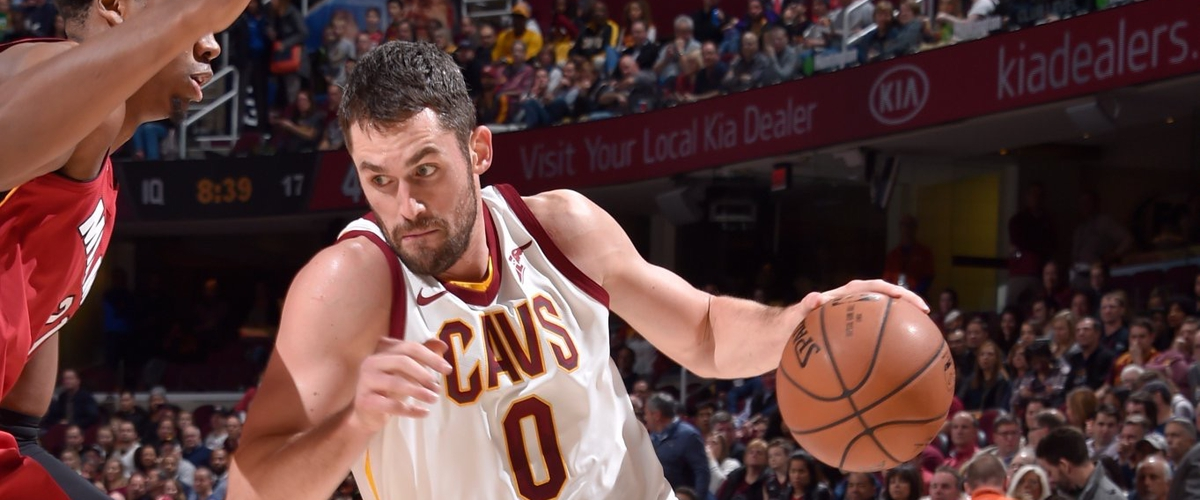 NBA Player of the Night Kevin Love