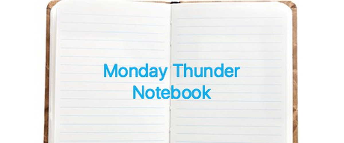 Thunder notebook; Burner twitters, Kanter to Mexico City, more