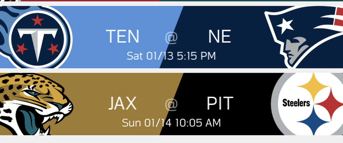 NFL Divisional Round Picks
