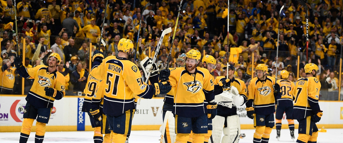 Nashville Predators rout the Chicago BlackHawks in four games of 1st Round of Playoffs