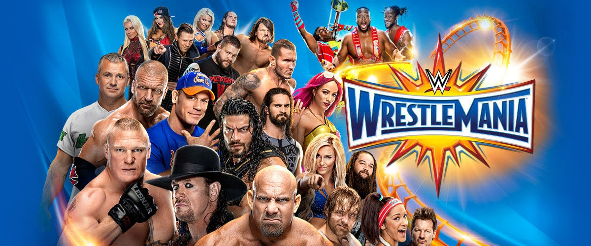 WWE Wrestlemania 33 Match Card And Predictions