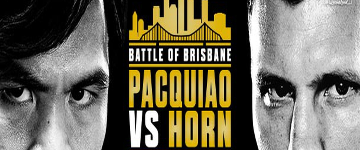 Manny Pacquiao vs Jeff Horn Preview
