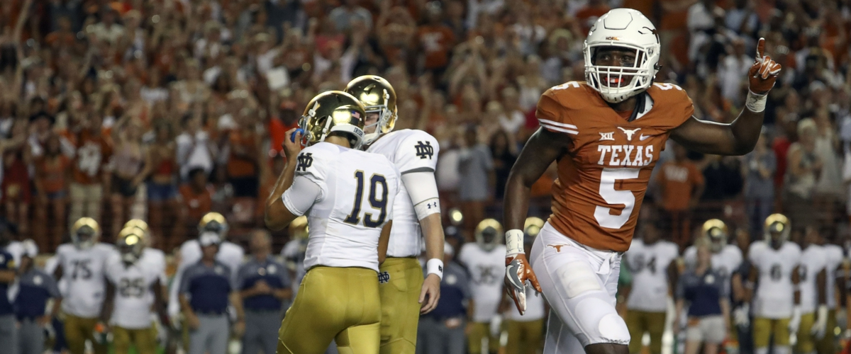 Texas Longhorns suspend Holton Hill for remainder of 2017 season