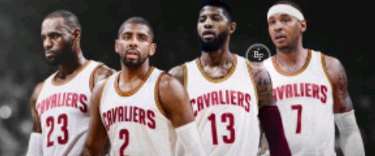 Can the Cavs find a way to get Carmelo Anthony and Paul George to Cleveland? It's a long road to making it happen