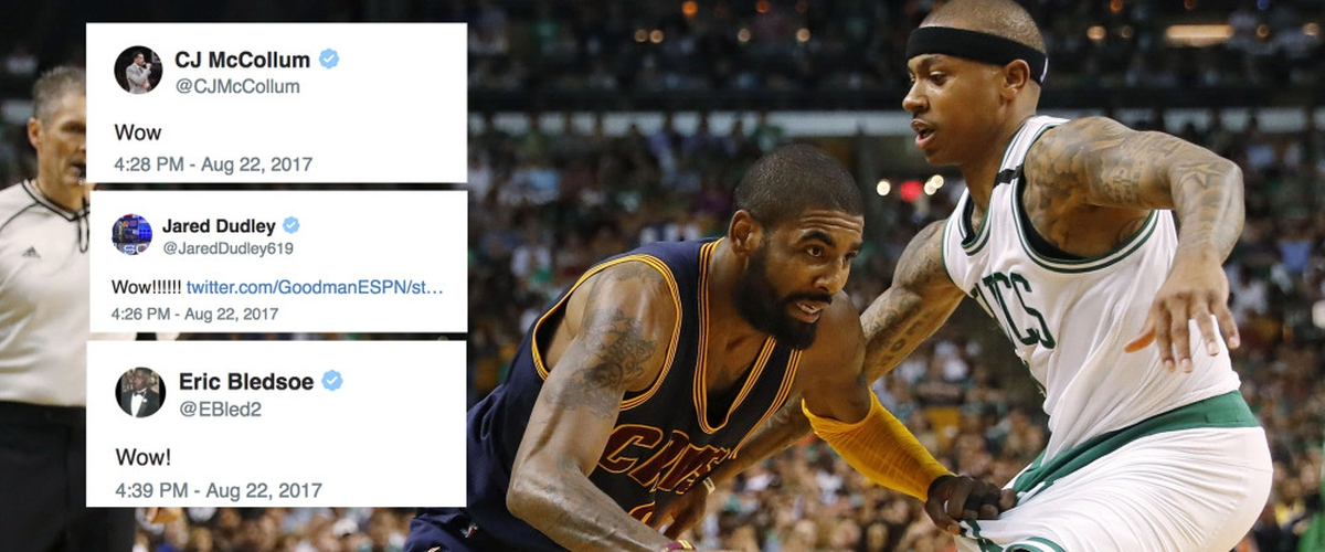 MEGATRADE: Kyrie Irving gets TRADED to a Rival Eastern Team.