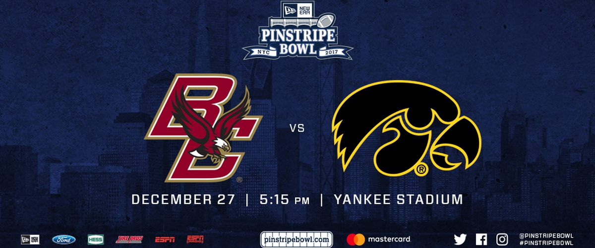 The Obstructed Pinstripe Bowl Preview: Boston College vs. Iowa