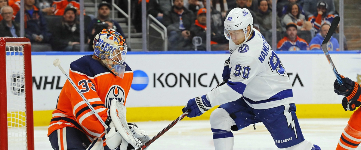 Lightning head home after blowout loss in Edmonton