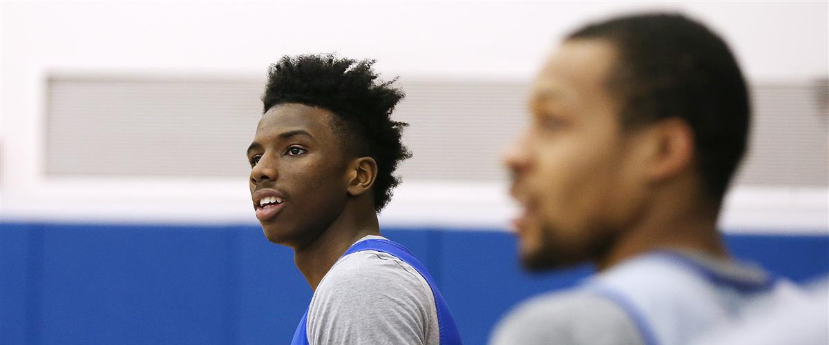 Heat reached out to Hamidou Diallo's AAU coach