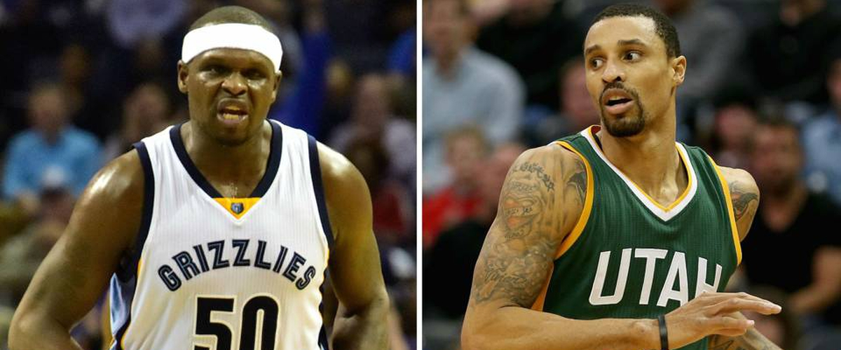 Sacramento adds veterans George Hill and Zach Randolph