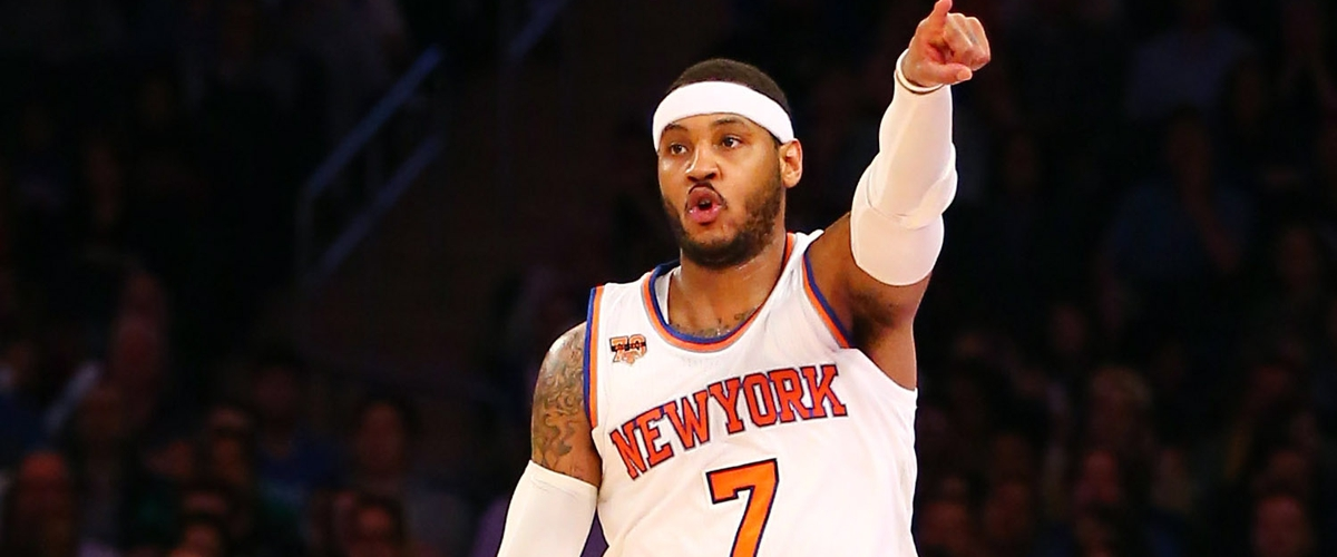Report: Knicks have traded Carmelo Anthony to the Thunder