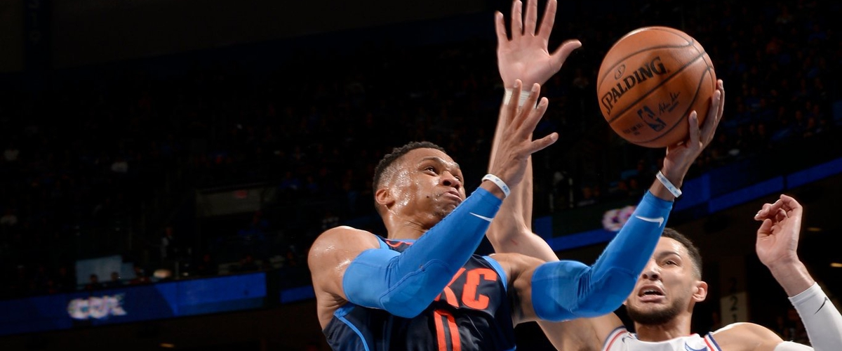 NBA Player of the Night Russell Westbrook