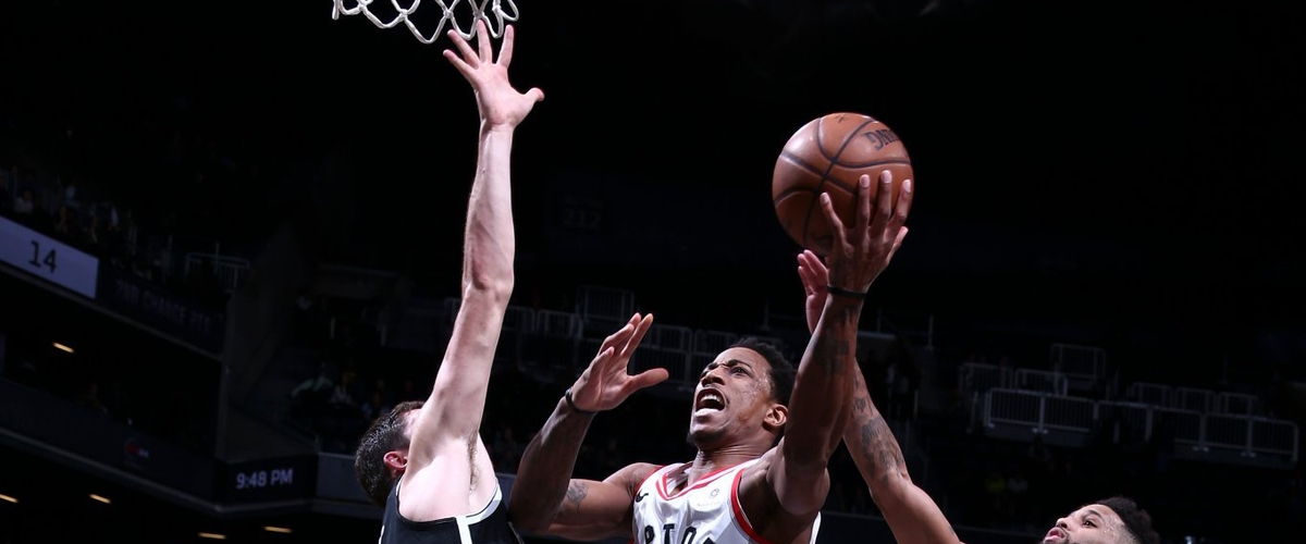 NBA Player of the Night DeMar DeRozan