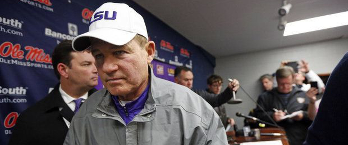 Les Miles At Ole Miss?  Possible, But Not Probable
