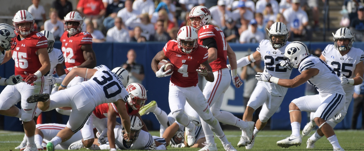 Wisconsin rolls to top of Big 10 without playing a game last weekend