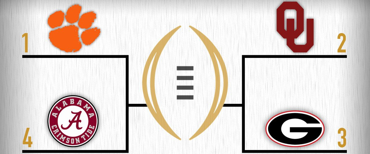 The CFB Playoff Is Set