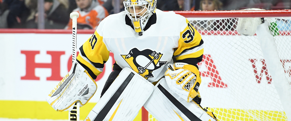 Penguins Erupt for Four Goals in Second Period; Silence Flyers