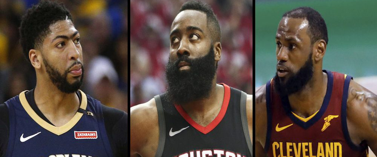 NBA Most Valuable Player Finalists Annouced: The Case for Harden, James, and Davis