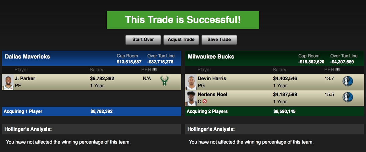 Potential Maverick Trade Partners: Milwaukee Bucks