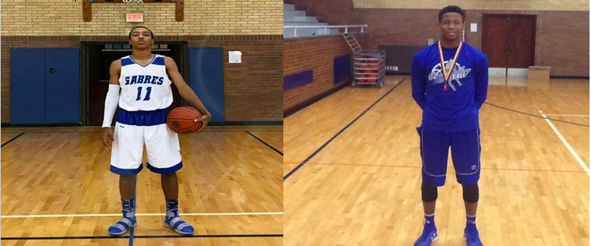 Sabres Basketball Spotlight - De'Auan and DiCarlo