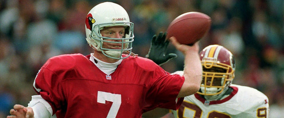 NFL Top 10 500-Yard Passing Games: No. 8 Boomer Esiason (522 Yards vs. Redskins, 11-10-1996)