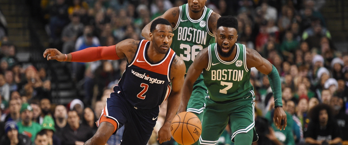 John Wall Leads Wizards over Celtics