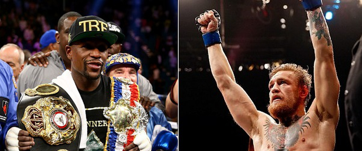 "Floyd Mayweather-Conor McGregor is the Real-Life ""The Great White Hype"""