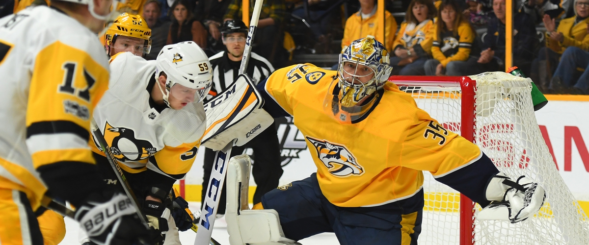 Predators Top Penguins in Shootout