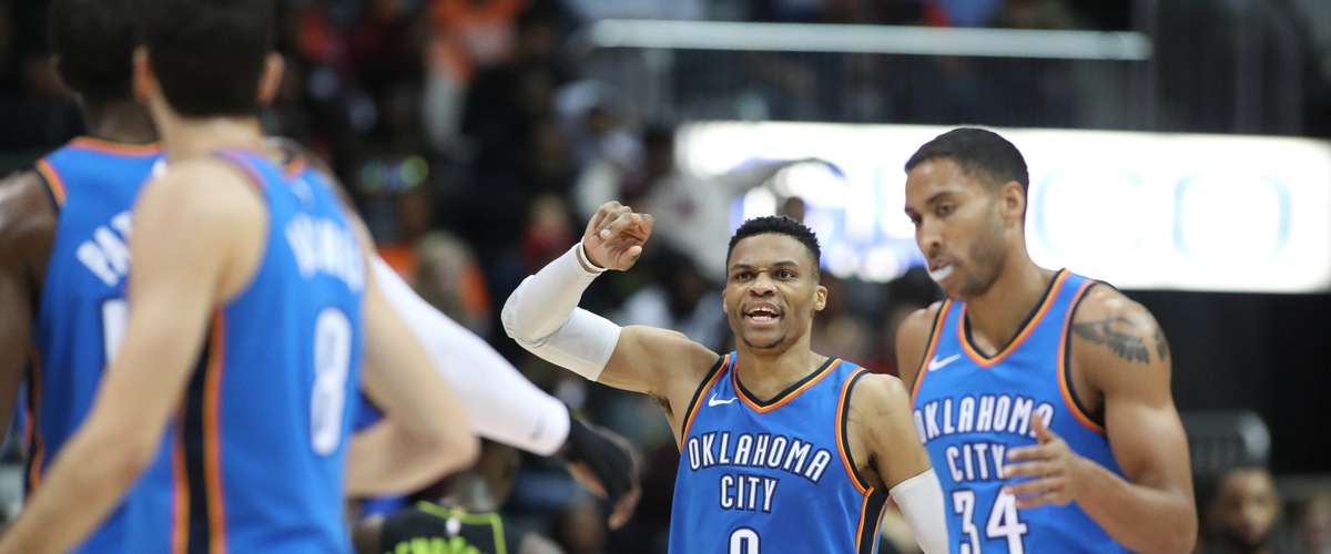 Russell Westbrook makes history in Thunder win
