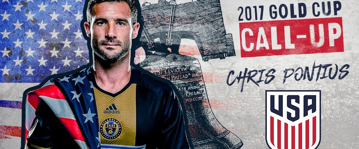 Philadelphia Union Chris Pontius Called up to U.S. MNT Gold Cup Roster