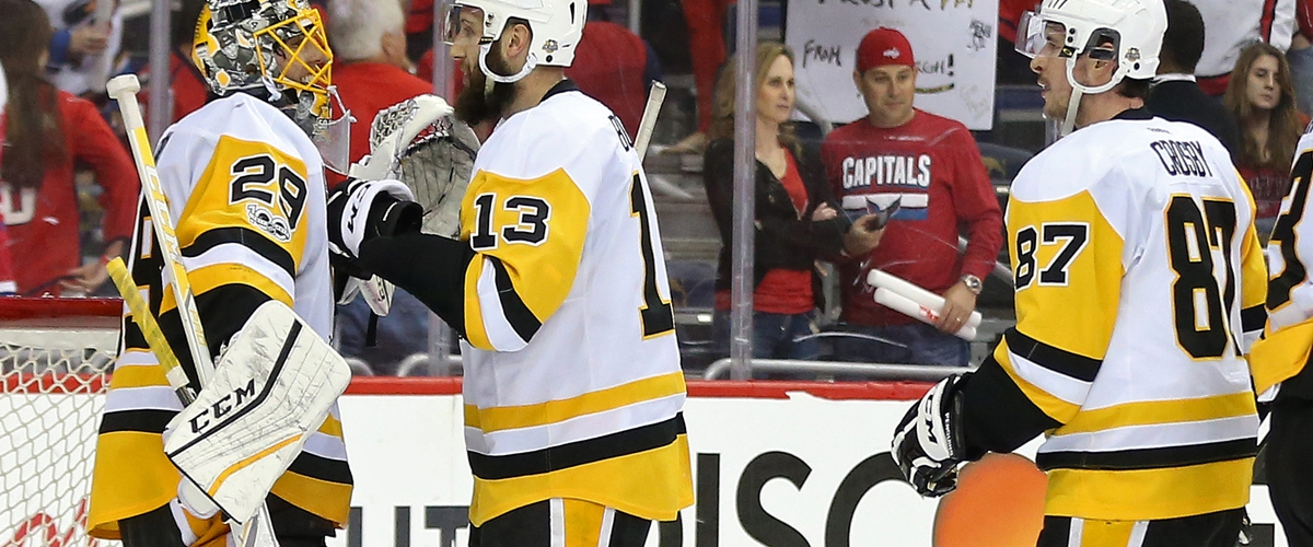 Bonino Strikes Capitals Again