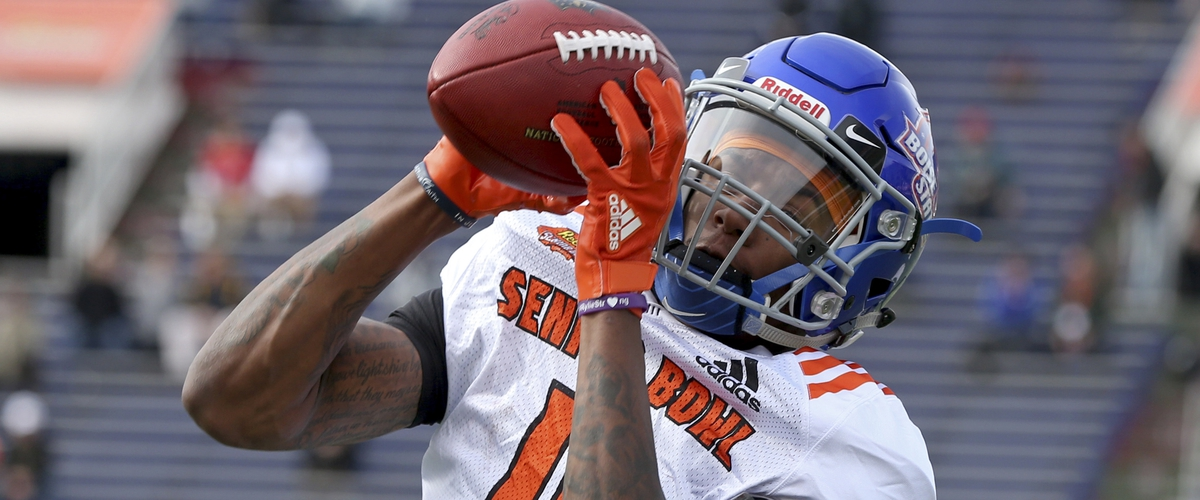 Boise State WR Cedrick Wilson could be steal for Atlanta in the mid rounds of the NFL Draft