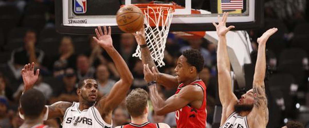 Spurs outwork Raptors, 101-97.