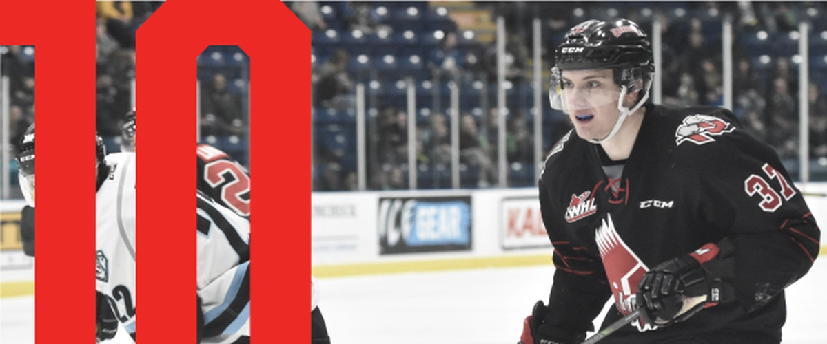 Three WHL teams represented in CHL's weekly Top 10