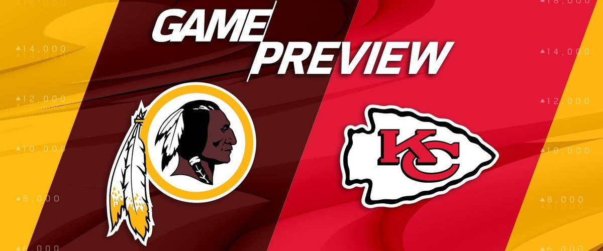 Redskins an Chiefs Watch Online and Betting Odds NFL Week 4 Photo?
