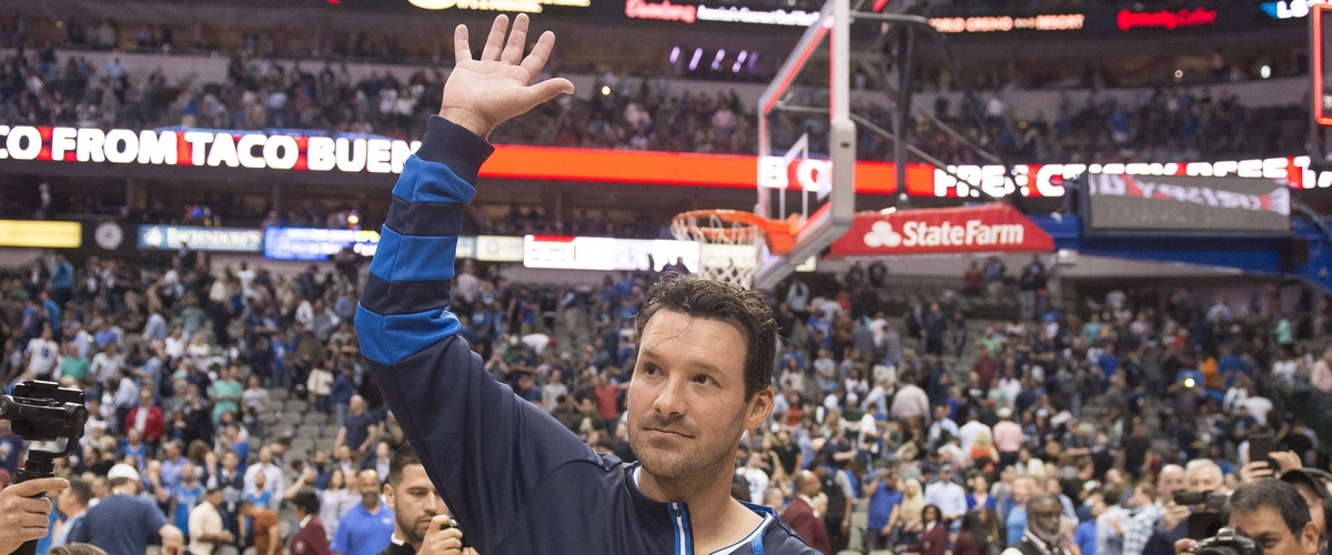 Tony Romo Looking to Trade Football Helmet for Golf Clubs
