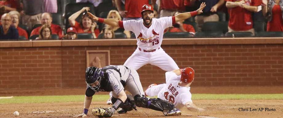 Harrison Bader, Debut Double, First MLB 'Slide-In Run' For Cardinals Walk-off Win