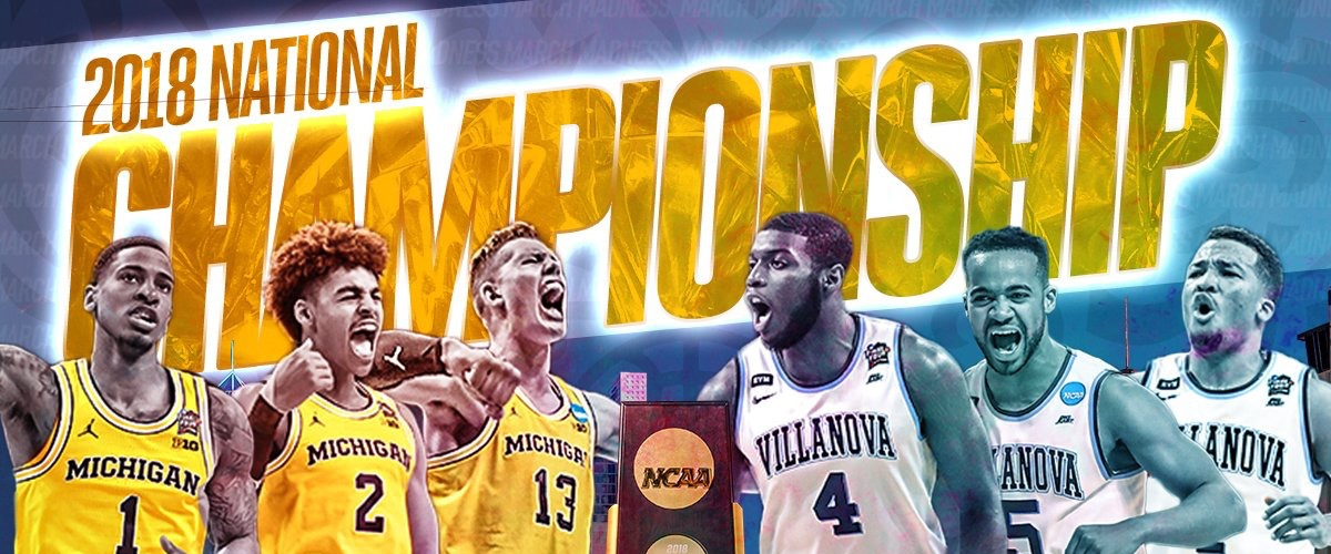 2018 National Championship Michigan vs Villanova