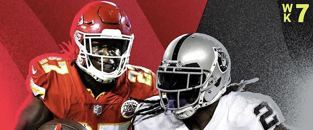 NFL Thursday Night Football Chiefs vs Raiders