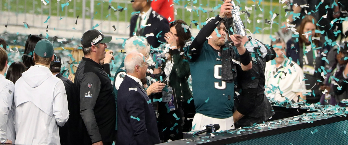 Offensive Records Set in Super Bowl LII; Eagles Win First Super Bowl in Franchise History