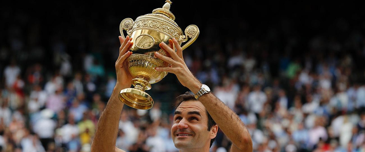 Roger Federer Completes Flawless Wimbledn Run to Win 19th Grand Slam