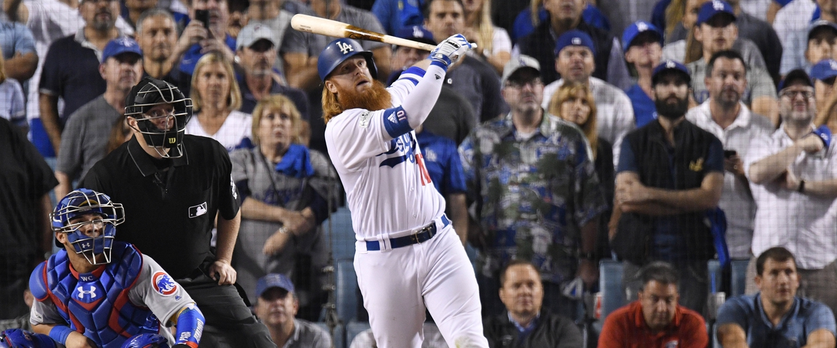 Justin Turner's walk off home run gives the Dodgers a 2-0 series lead