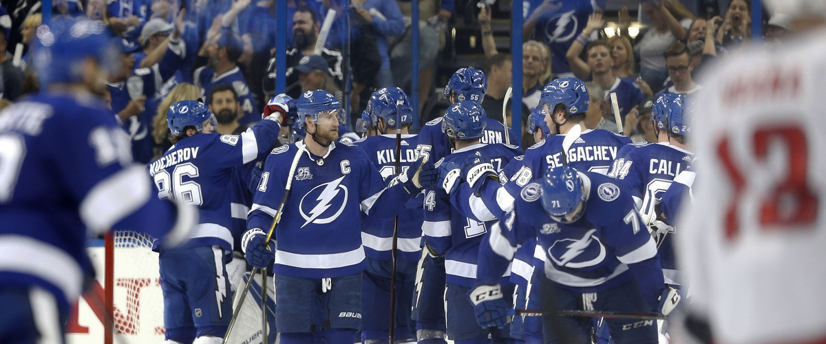 Lightning one win from Stanley Cup Final