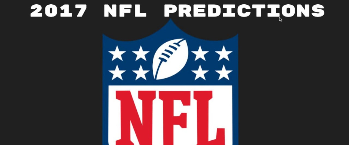 NFL Team and Playoff Predictions for the 2017 Season