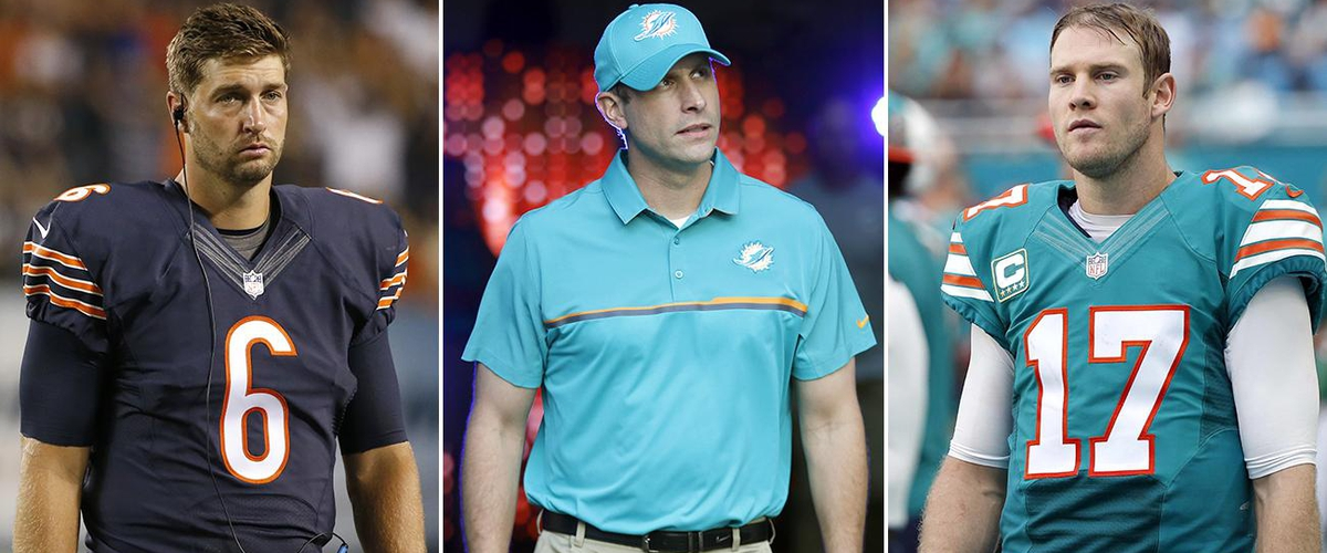 Is Jay Cutler Just a Fill-In for the Dolphins?