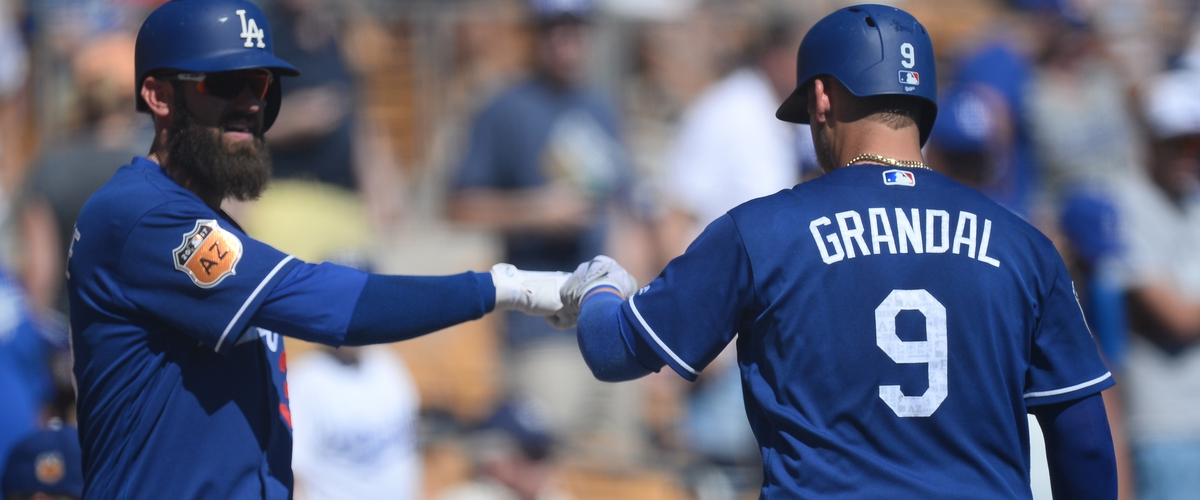 MLB: Spring Training-Cincinnati Reds at Los Angeles Dodgers