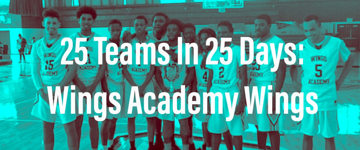 25 Teams In 25 Days: Wings Academy Wings