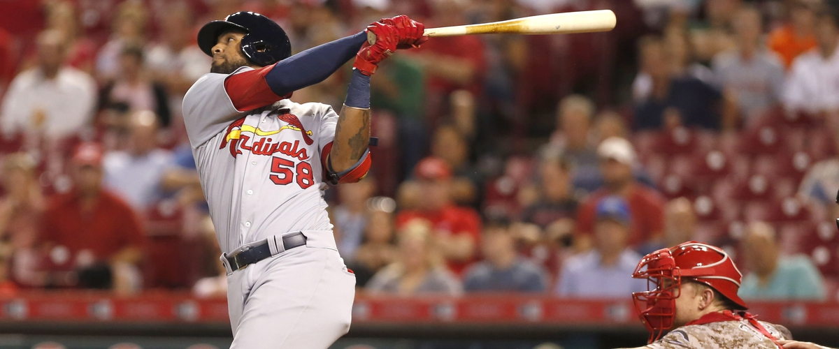 Cardinals Jose Martinez named MLB NL Rookie of the Month for September.